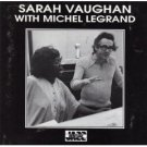 sarah vaughan with michel legrand CD 1990 musical heritage society used very good