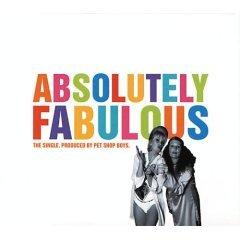 pet shop boys : absolutely fabulous CD single 1994 spaghetti EMI used very good