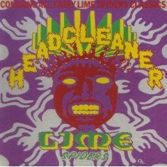 lime spiders : headcleaners CD 1988 virgin made in australia used mint