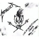 metallica : live at wembley stadium london april 20th 1992 CD single 3 tracks used