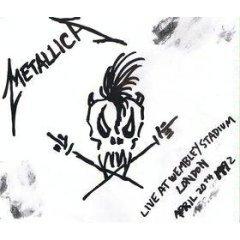 metallica : live at wembley stadium london april 20th 1992 CD single 3 tracks used