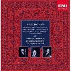 beethoven Piano Trios Violin & Cello Sonatas - barenboim zukerman du pre 9 CD boxset 2001 EMI mint