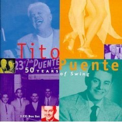 tito puente : 50 years of swing CD 3-disc boxset 1997 RMM used mint