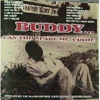 buddy ... can you spare a dime by vairous artists CD import 2003 black cat used mint