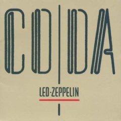 led zeppelin - coda CD 1982 swan song 8 tracks gate fold jacket used mint