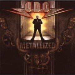 U.D.O. : metallized CD 2007 AFM records import used mint