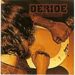 deride : first round knockout CD 2002 music cartel used mint