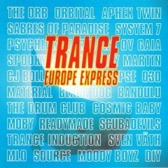trance europe express 2-CD box with 192-page booklet 1993 BMG made in UK used