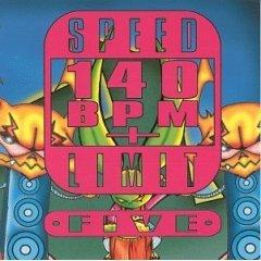 speed limit 140 BPM plus volume five CD 1994 moonshine used near mint