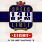 speed limit 140 BPM plus volume eight CD 1996 moonshine used near mint