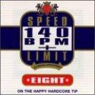 speed limit 140 BPM plus volume eight CD 1996 moonshine used near mint