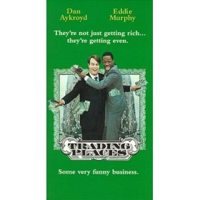 trading places VHS 1992 paramount used mint