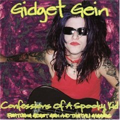 gidget gein : confessions of a spooky kid CD 1998-1999 used mint autographed