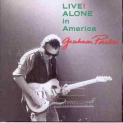graham parker : live! alone in america CD 1989 RCA used very good