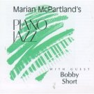 marian mcpartland : piano jazz with guest bobby short CD 1994 jazz alliance