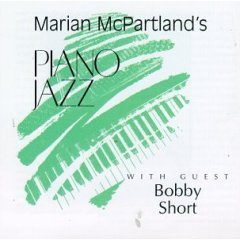 marian mcpartland : piano jazz with guest bobby short CD 1994 jazz alliance