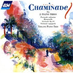cecile chaminade : 2 piano trios : tzigane piano trio CD 1996 ASV made in england used mint