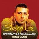 stagga lee : roll wit M.V.P. (we be like! the la la song) enhanced CD single 2003 artist direct mint