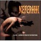 nefertiti - L.I.F.E. - living in fear of extinction CD 1994 mercury polygram new