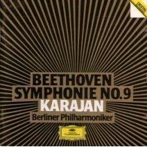 beethoven symphony no.9 - karajan with berliner philharmoniker CD 1984 deutsche grammophon used mint