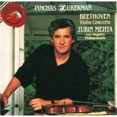 pinchas zukerman - beethoven violin concerto with zubin mehta & LAP CD 1992 RCA mint