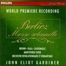 berlioz - messe solennelle : gardiner brown viala cachemaille, CD 1994 philips BMG Dir. mint