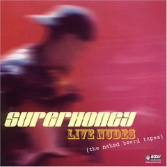 superhoney - live nudes CD 2003 moxxy records used mint