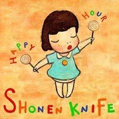 shonen knife - happy hour CD 1998 big deal universal victor used near mint
