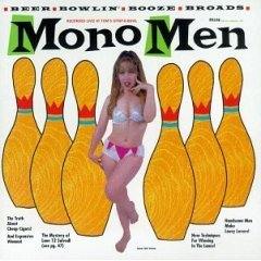 mono men - recorded live at tom's strip-n-bowl CD 1995 estrus used mint