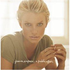 jessica simpson - a public affair CD with a bonus DVD 2006 epic sony used mint