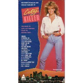 city killer - heather locklear and gerald mcraney VHS 1988 prism used very good
