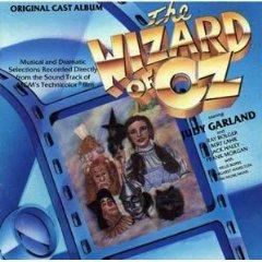 wizard of oz - original cast album starring judy garland CD 1989 CBS 21 tracks used good