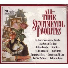 reader's digest - all-time sentimental favorites CD 4-disc box 1990 readers digest used near mint