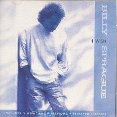 billy sprague - i wish CD 1989 reunion records 10 tracks used mint