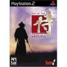 playstation 2 - way of the samurai 2002 acquire rated mature used mint