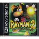 playstation : rayman 2 - the great escape 2000 ubi soft entertainment - used mint