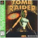 playstation - tomb raider - eidos - rated teen 13+ ntsc u/c - used mint