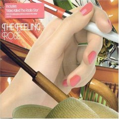 the feeling - rose CD ep 2007 universal 4 tracks used mint