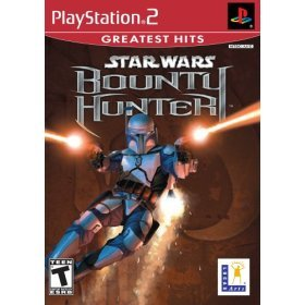 star wars - bounty hunter : playstation 2 2002 skywalker rating teen - used mint