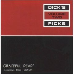 grateful dead - dick's picks volume two ohio theatre, columbus OH 10/31/71 CD 1995 used