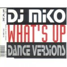 dj miko - what's up dance version CD single 1994 zyx 4 tracks made in germany used like new