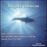 william goldstein - a tribute to jacques cousteau original soundtrack CD 1997 MIL mint