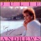 julie andrews - love julie CD 1987 USA music group - used mint