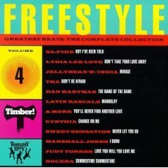 freestyle - greatest beats : complete collection vol. 4 : CD 1994 tommy boy - used near mint