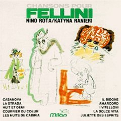 chansons pour fellini - nino rota / katyna ranieri CD 1987 milan made in austria - new