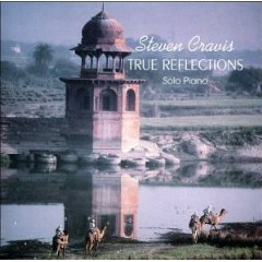 steven cravis - true reflections solo piano CD 1992 steven cravis music living light - used mint