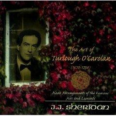j.j. sheridan - the art of turlough o'carolan (1670-1738) CD 2002 trigon recordings used near mint