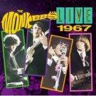the monkees - live 1967 CD 1987 rhino 16 tracks used mint