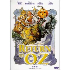 return to OZ DVD 1999 anchor bay starz used near mint