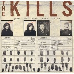 the kills - keep on your mean side CD 2003 rough trade used mint